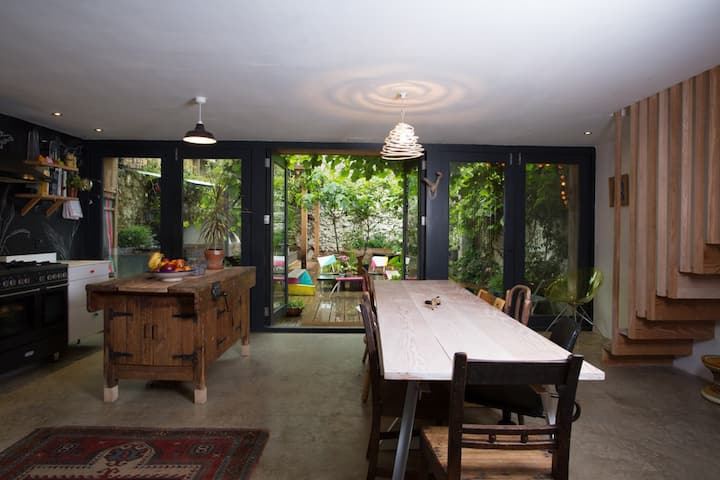 A unique, artistic family home