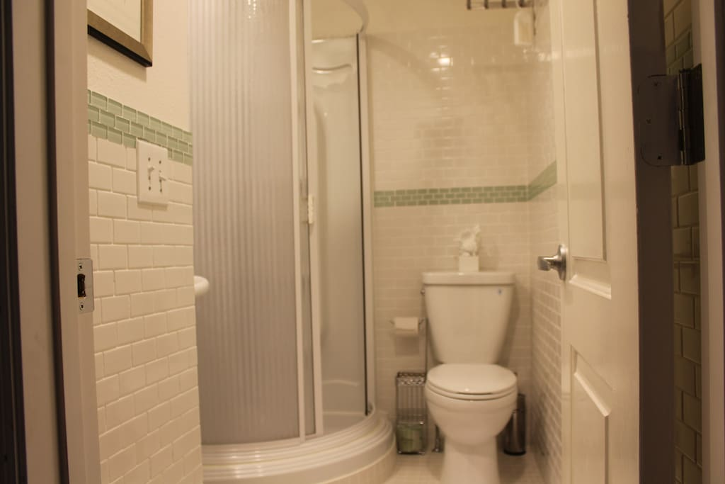 Your private (in room) bathroom