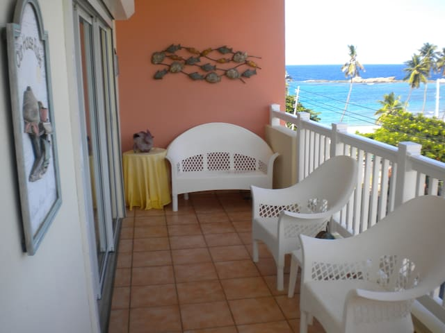 Spacious apartment with beach view - Isabela - Lägenhet