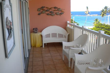 Spacious apartment with beach view - Isabela - アパート