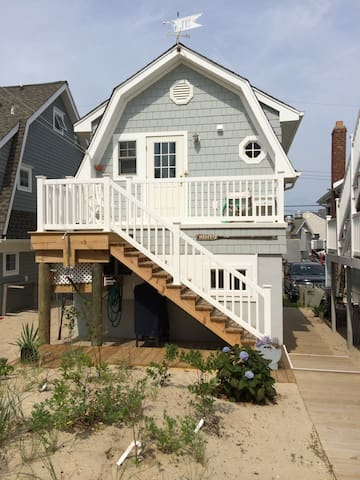 """Oarhouse"" garage apartment by sea - Manasquan - Lägenhet"