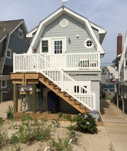 """Oarhouse"" garage apartment by sea - Manasquan - Íbúð"