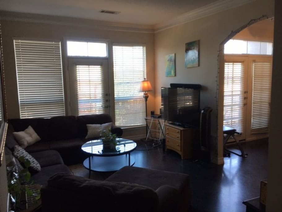 "Living room 55"" Smart TV"