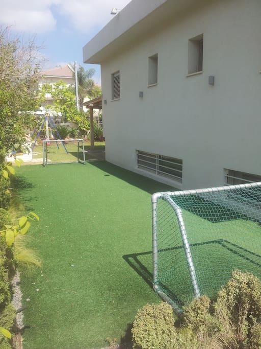 Garden - soccer court