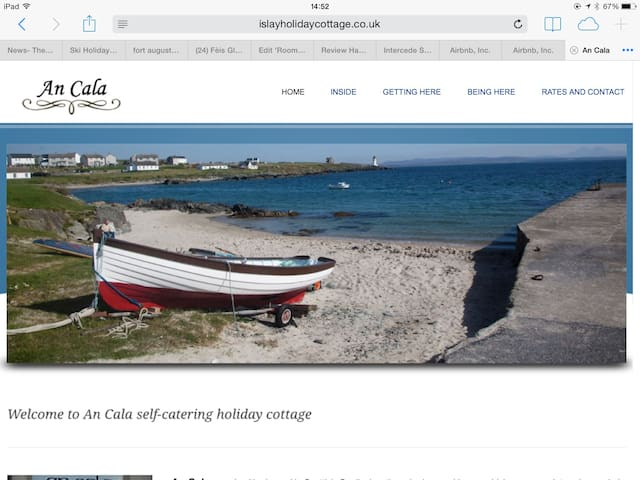 An Cala self catering  cottage - Port Charlotte - Casa