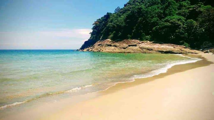 Casa na praia para relaxar e curtir a natureza!