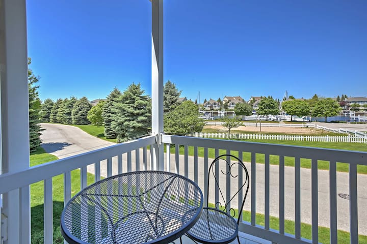 Manistee Home w/Harbor Views & Pool- Walk to Beach