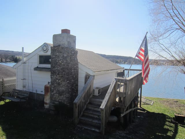 Cozy house and cottage on Loon Lake