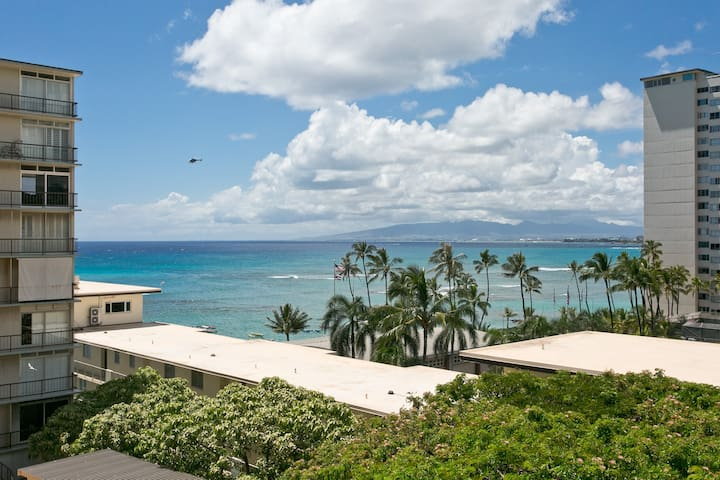 Best Value on Diamond Head! Ocean Queen Suite