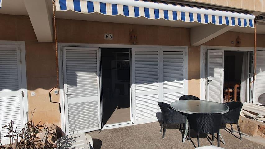 Habitación privada, 1ra linea d playa Santa Ponsa