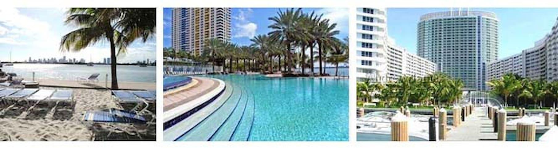 In the Heart of South Beach, Luxurious Condo! - Miami Beach - Apartamento
