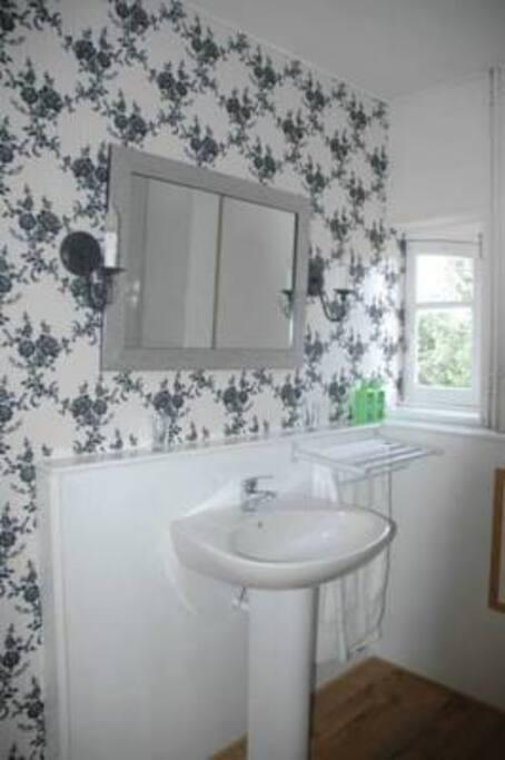 Badkamer met ligbad Belle Nouvelle