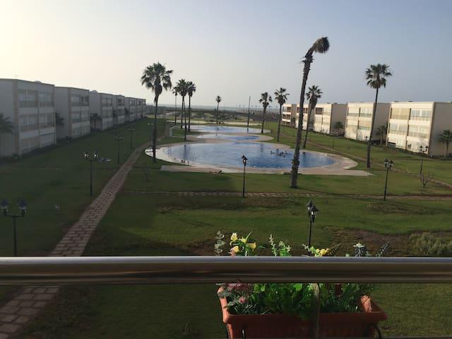 Appartement vue sur mer - Sidi Rahal - Daire