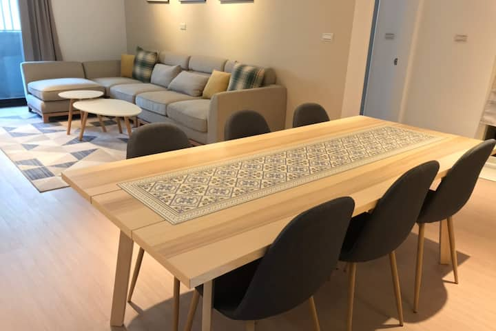 Nordic Cozy Day 【Taichung City】【3 Rooms apartment】