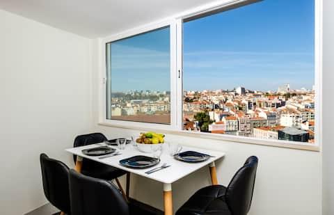 Apto Centrico + Ultimo piso + Vista excepcional