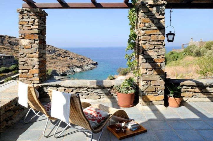 Beachfront Rosemary Apartment - Kea  - Leilighet