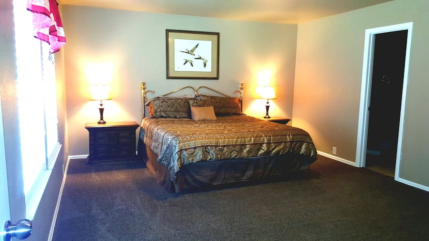 Luxury home near Riverwalk, Alamo Dome 4 bedrooms