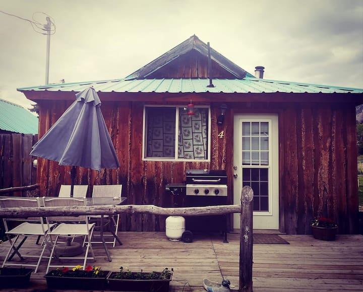Rustic Mountain cabin # 4.