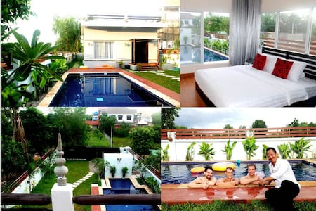 Dream Home PoolVilla, Free Pickup+Wifi+2bicycles - Krong Siem Reap