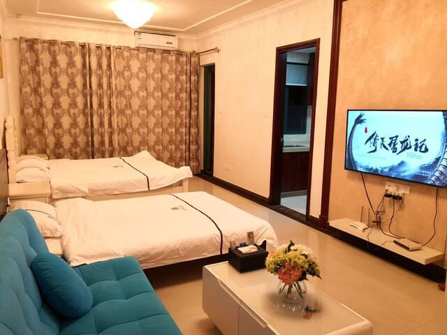 上海周边恒大海上威尼斯度假区碧海银沙度假公寓中央景观高层亲子