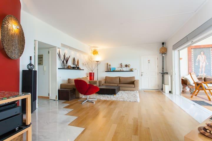 Modern flat with breathtaking views - Rethymno - Apartment