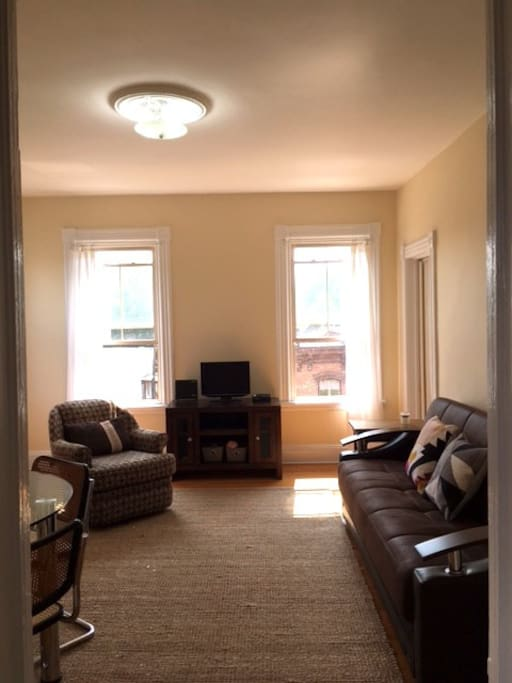 Living/Dining Area (fold out sofa)
