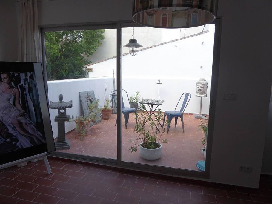 Eigene Terrasse