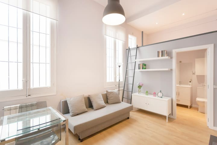Duplex loft  Lavapies-Madrid center
