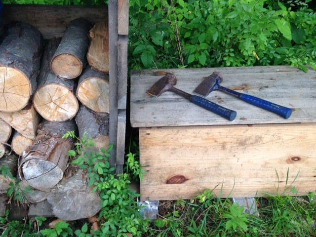 Chop your own kindling if you want!