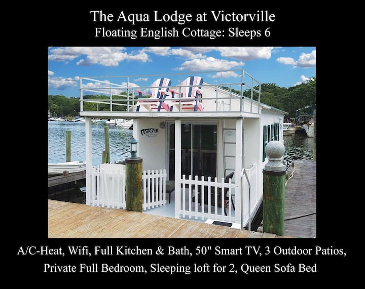Aqua Lodge at Victorville Floating Cottage for 6