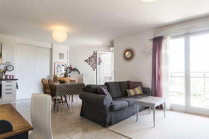 Grand appartement avec terrasse  - Dijon - Lägenhet