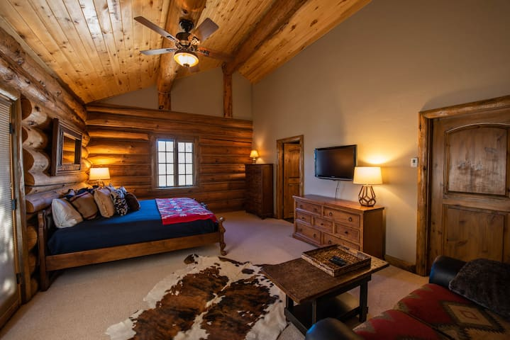 Town Side Master Bedroom and Sitting Area
