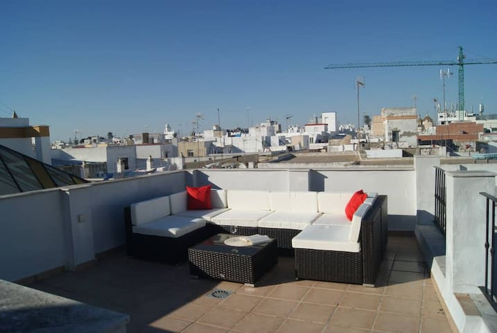 Penthouse Tavira tower two private terraces with great views