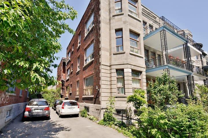 Montreal, Plateau Mont-Royal. - Montréal - Lägenhet