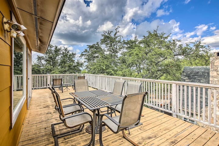 Looking for outdoor space? This wraparound deck has you covered.