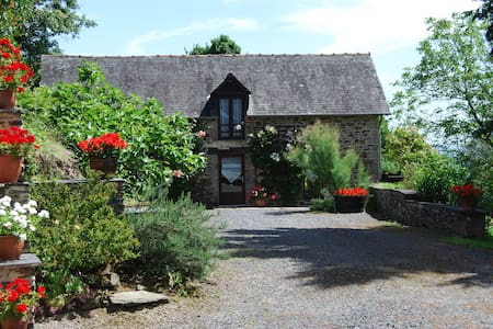 Stone cottage in rural Correze - Saint-Solve - Hus