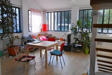 Loft  lumineux avec 2 chambres dispos - Montreuil - Loft