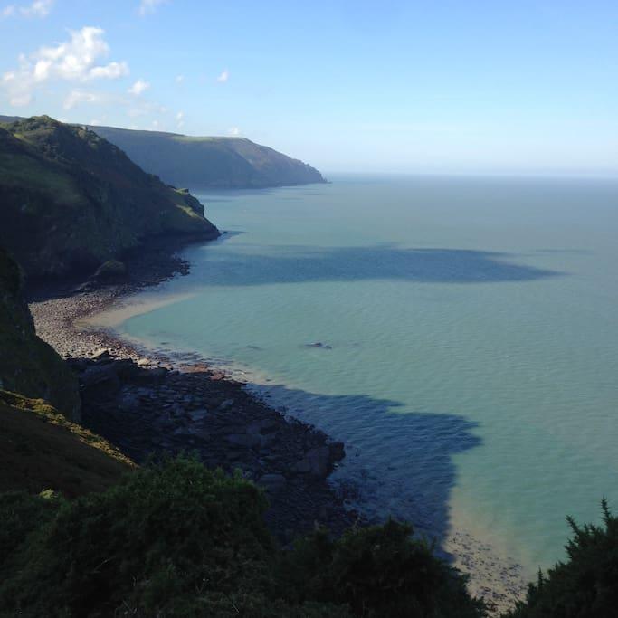 Stunning coastline around North Devon