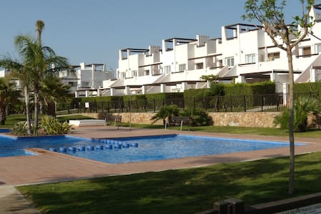 Secure, Safe Family Apartment With Beautiful Pool - Condado de Alhama Golf Resort