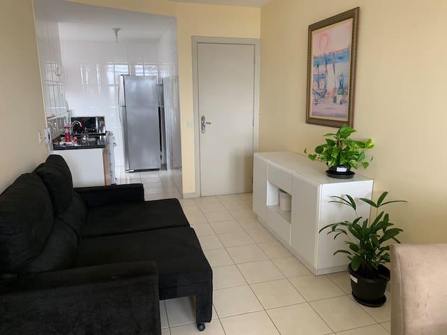 Quarto individual em Apartamento Jardim da Penha