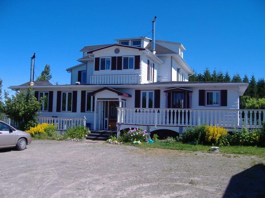 Maison principale (gîte)