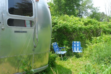 Vintage Trailer Trash Crash Pad - Camper/RV