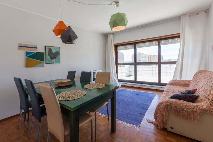 Oporto terrace by the beach - Matosinhos - Lejlighed
