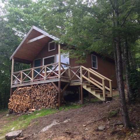 Mountaintop Cabin - Hike or Ski In! - Bridgton - Cabane