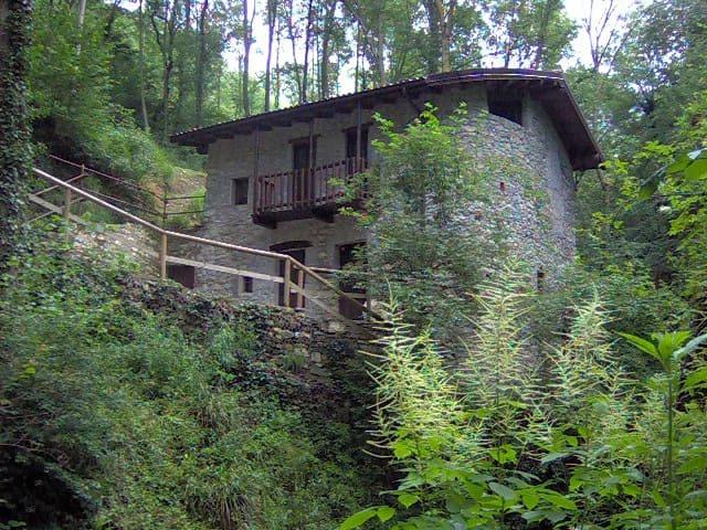 Un antico mulino nel bosco