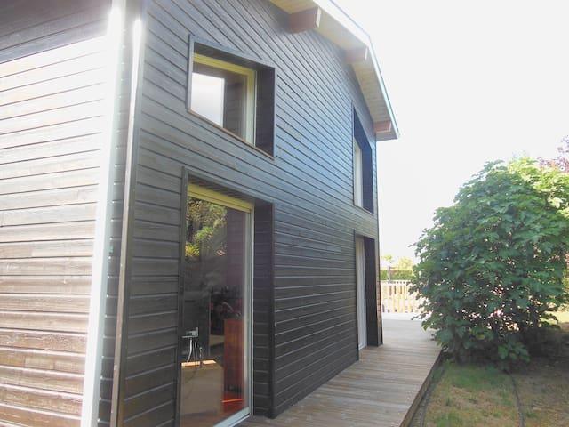 Maison en bois avec piscine - Mées - Casa