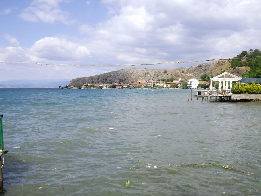 Lake Ohrid. Lin