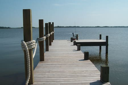 Waterfront, fishing and romantic get away - Barco