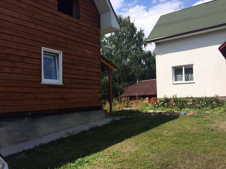 Деревянный Дом в Новоабзаково