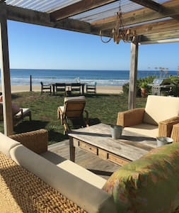 Rustic beachfront bach - WINTER SPECIAL